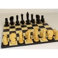 WorldWise Chess Black Berliner on Black Basic Chess Board
