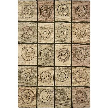 Chandra Tupelo Tan Area Rug; 5' x 7'6''