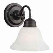 Design House Millbridge 1 Light Wall Mount; Oil Rubbed Bronze