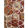 Chandra Gagan White Casual Rug; 5' x 7'