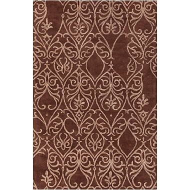 Chandra INT Chocolate/Mocha Area Rug; 5' x 7'6''