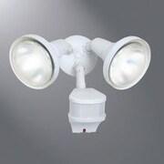 Cooper Lighting Halogen Motion Sensor Spot Light; White