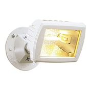 Cooper Lighting Halogen Single Head Floodlight; White