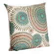 Saro Polyester Pillow; Olive