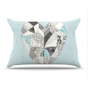 KESS InHouse Comheartment Pillowcase; King