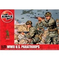 Airfix 1:72 WWII US Paratroops Plastic Figures