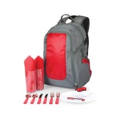 Picnic Time Escape Picnic Backpack; Red