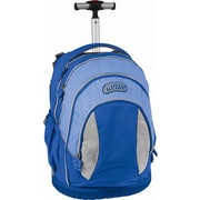 J World Sweet Kid's Ergonomic Rolling Backpack; Skyblue