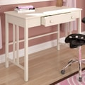Sonax Plateau Workspace Writing Desk with Drawer; White