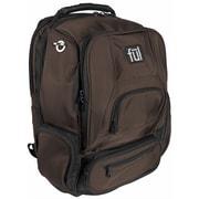 FUL Upload Laptop Backpack; Brown