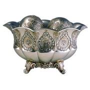 ORE Furniture Traditional Metallic Decorative Decorative Bowl