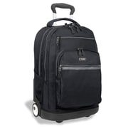J World Sundance II Laptop Rolling Backpack; Black