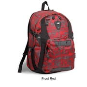J World Haid Laptop Backpack; Red