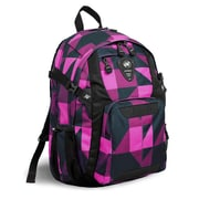 J World Haid Laptop Backpack; Pink