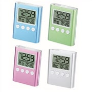 Chass C-Time LCD Travel Alarm Clock; Green