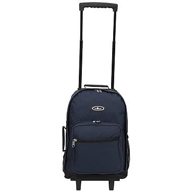 Everest Rolling Backpack; Navy