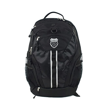 K Swiss Unisex Large Training Backpack; Black/Black