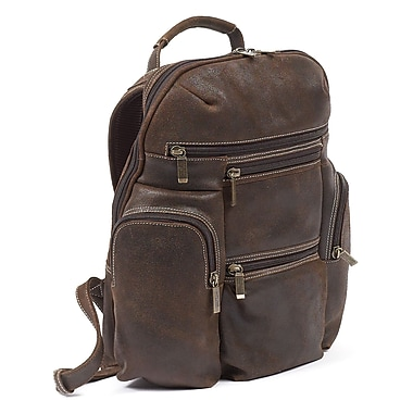 Claire Chase Laguna Backpack; Distressed Brown
