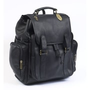 Claire Chase Uptown Jumbo Backpack; Black