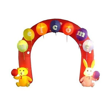 BZB Goods Easter Inflatable Arch w/ Rabbit and Bear Decoration