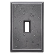 RQ Home Deco Night Sky Magnetic Single Toggle Wall Plate