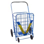 Trimmer Extra Large Shopping / Grocery Cart; Blue