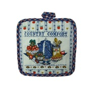 Textiles Plus Inc. Printed Country Comfort Pot Holder (Set of 2)