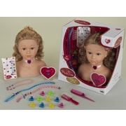 Theo Klein Princess Coralie 13'' Hair Styling Head with Accessories