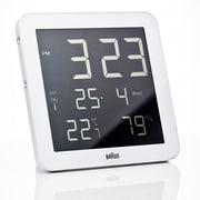 Braun Digital Wall Clock; White