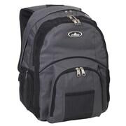 Everest Laptop Backpack; Charcoal / Black