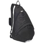 Everest Deluxe Sling Backpack; Black