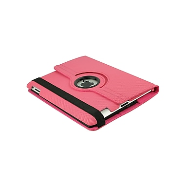 Techni Mobili 2COOL Duo-View iPad Case with Bluetooth Keyboard; Pink
