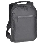 Everest Slim Laptop Backpack; Black