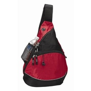 Preferred Nation Monsoon Sling Backpack; Red