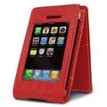 MacCase Premium Leather iPhone Case; Red