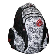 Ecko Backpack; Black / White