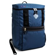 J World Rectan Laptop Backpack; Indigo