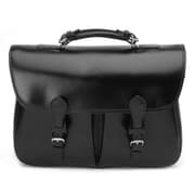 Mulholland Brothers Briefcases Messenger Bag; Black