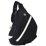 Everest Sporty Sling Backpack; Black / Beige