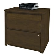 Bestar Prestige + 2-Drawer  File; Chocolate