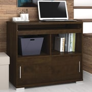 Bestar Connor Credenza Desk with Keyboard Tray