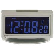 Geneva Clock Elgin 1.8'' LCD Pick Your Color Alarm Clock