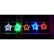 Homebrite Solar Star String Light; Multi-Color