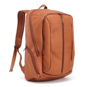 Le Donne Leather Laptop Backpack; Tan