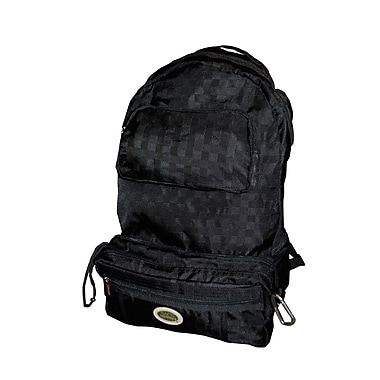 Sacs of Life Full Size Backpack; Black