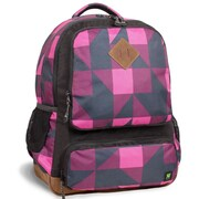 J World Lomberd Multi Pocket Backpack; Pink