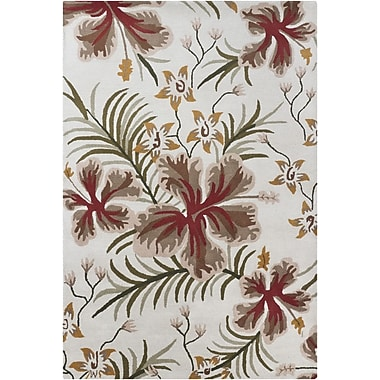 Chandra INT Floral Area Rug; 7' x 10'