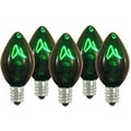 Queens of Christmas 5W Light Bulb; Green