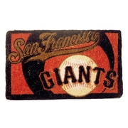 Team Sports America MLB Welcome Bleached Doormat; San Francisco Giants
