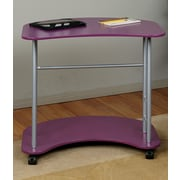 Office Star OSP Designs Computer Desk; Purple